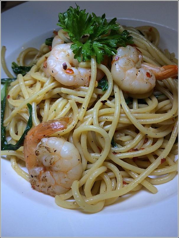 Aglio Olio Spaghetti