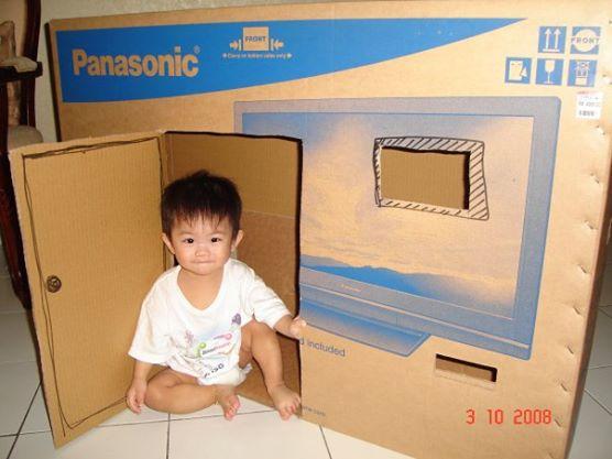 Ethans box house