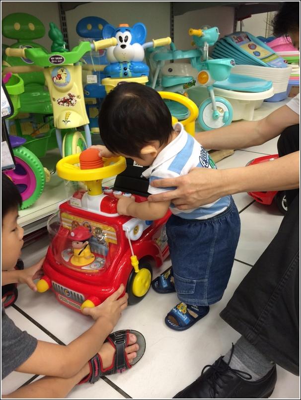 Kiddie Ride On Fire Truck 1