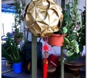 gold ball lantern