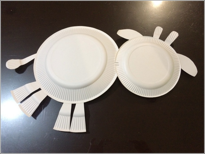 paper plate cow 2