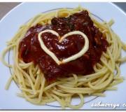Heart full of spaghetti