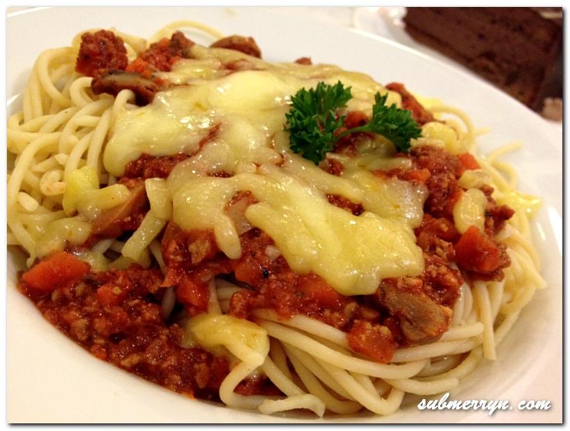 Easy recipe for pasta bolognese