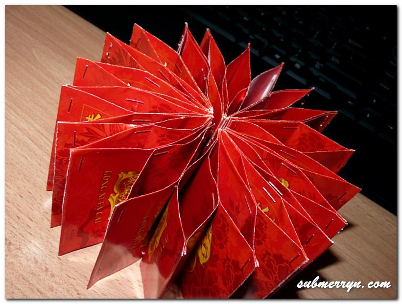 DIY Chinese New Year decor : Angry Bird Ang Bao Wheel of ...
