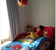 Angry Bird Bed Sheet