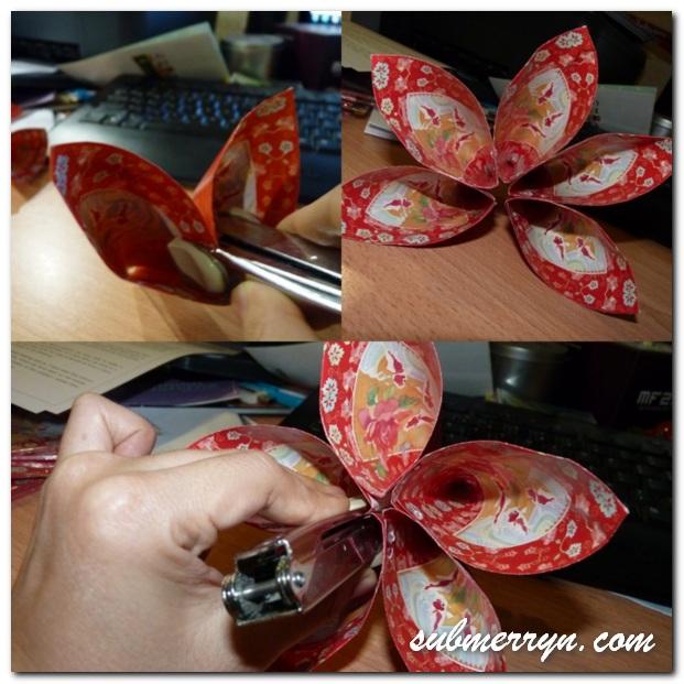 Angpow lantern flower