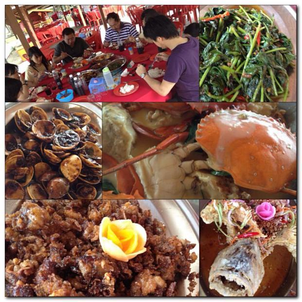 Golden Sea Restaurant, Morib