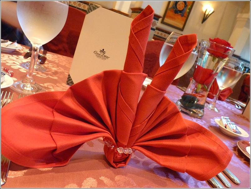grand dorsett valentine's menu