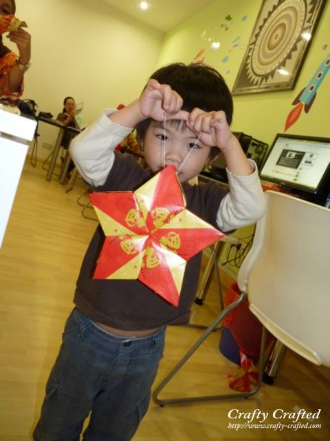 Angpow star lantern