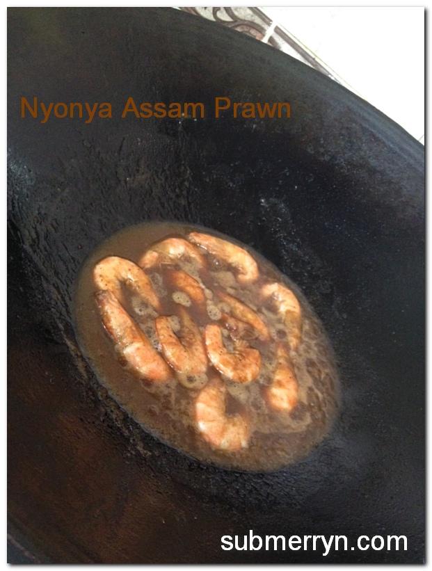 Nyonya Assam Prawn