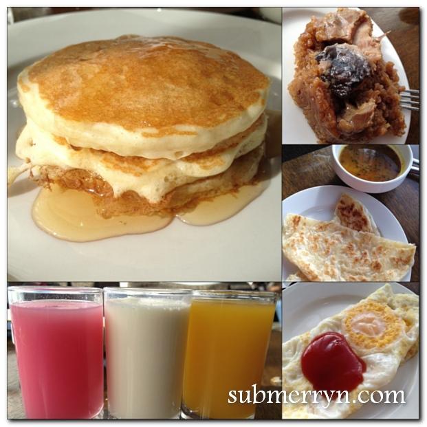World Club Lounge breakfast