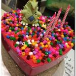 Pyssla beads cake_1