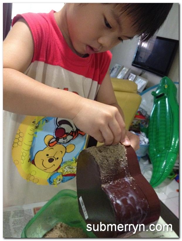 Pyssla beads cake_4
