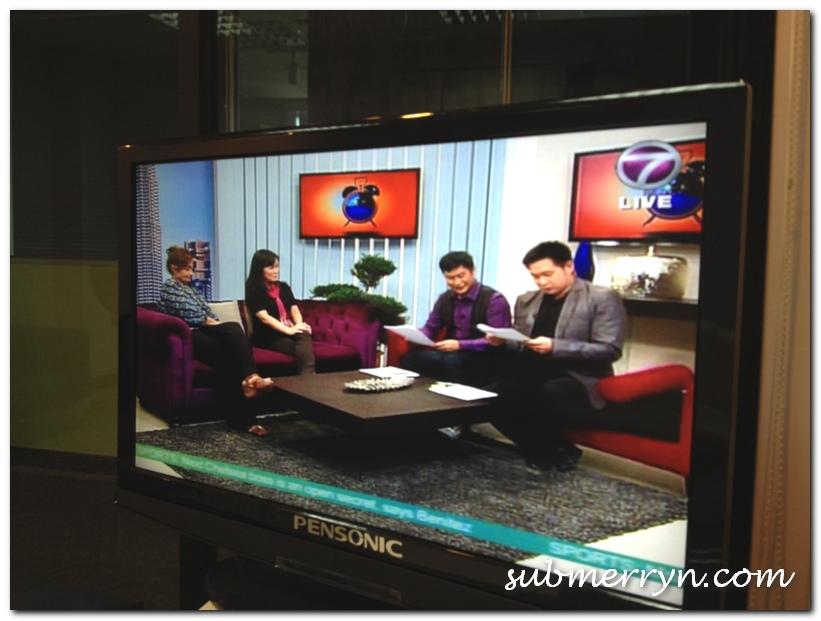 NTV7 The Breakfast Show Rashid Salleh Douglas Lim
