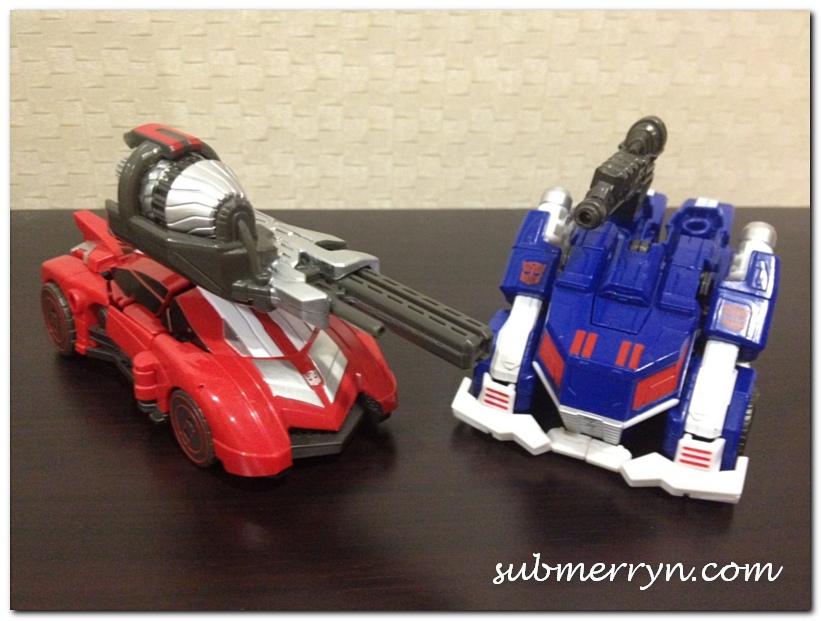 Transformers Sideswipe and Ultra Magnus