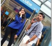 Awal Ashaari and Liyana Jasmay