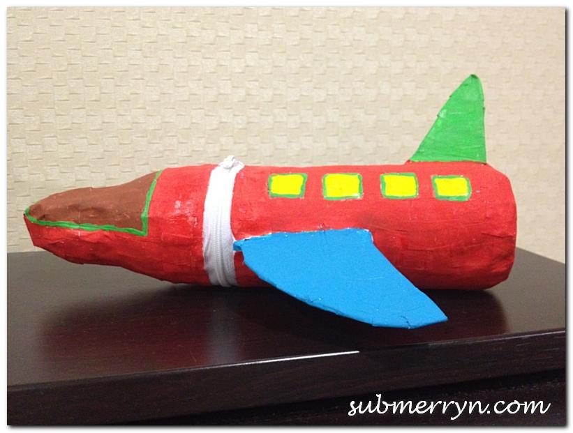 Papier Mache Bottle Pencil Case_6