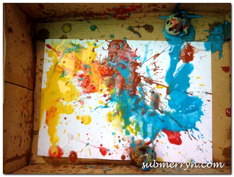 Egg abstract art_1