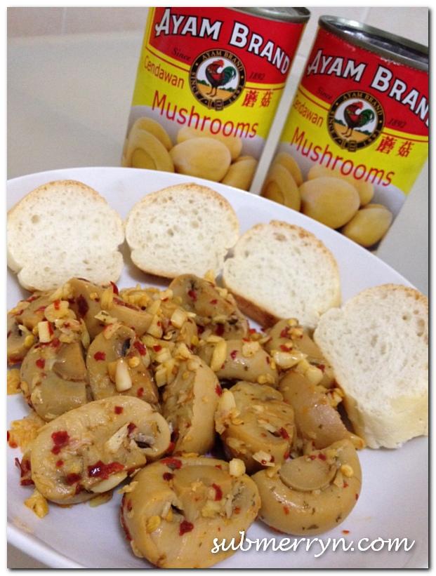 Spicy Mushroom Tapas Recipe