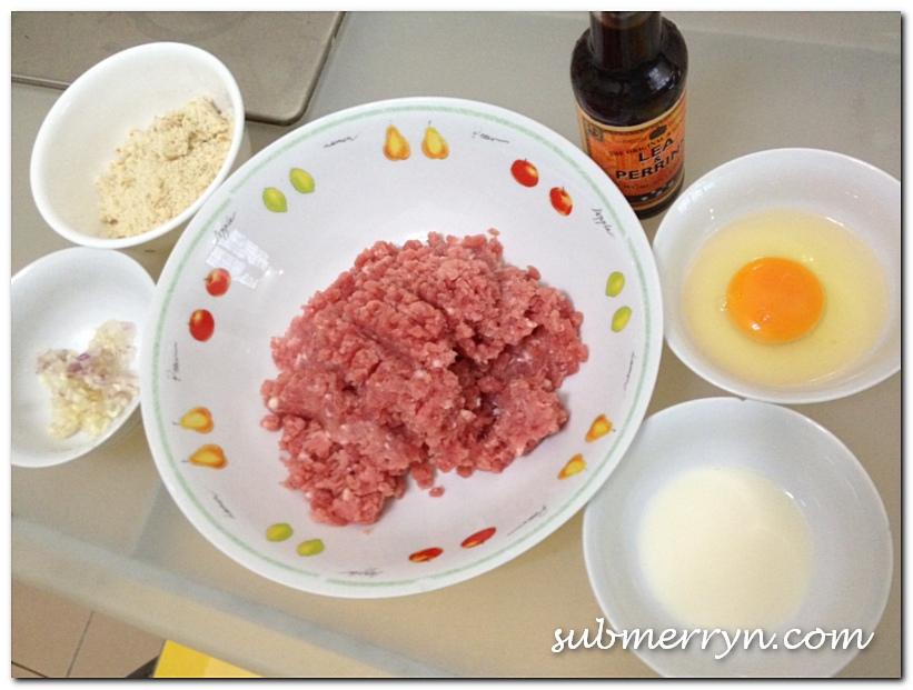 Homemade pork burger patty_7