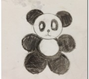 How to draw a panda_1