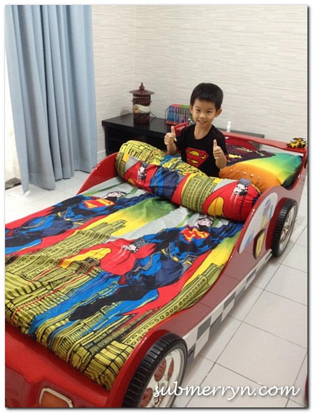 Man of Steel bedspread