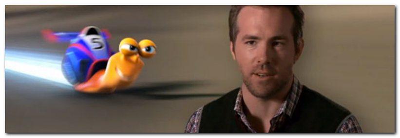 Ryan Reynolds as Turbo