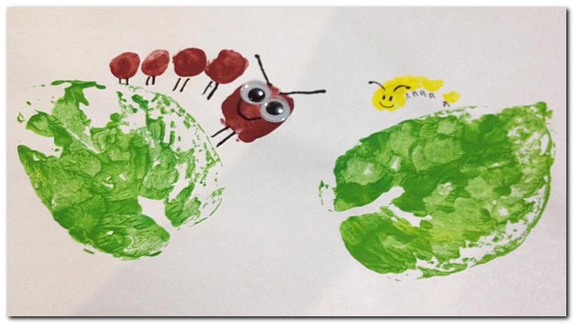 Toe Print Caterpillar_7