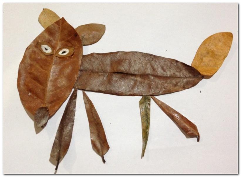 fox leaf craft_3