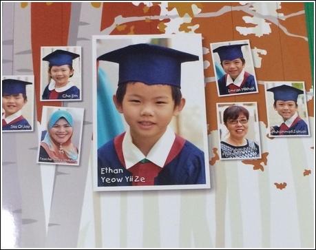 Class graduation pic