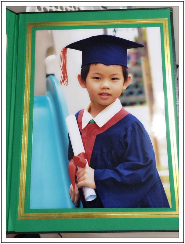 Ethan graduated