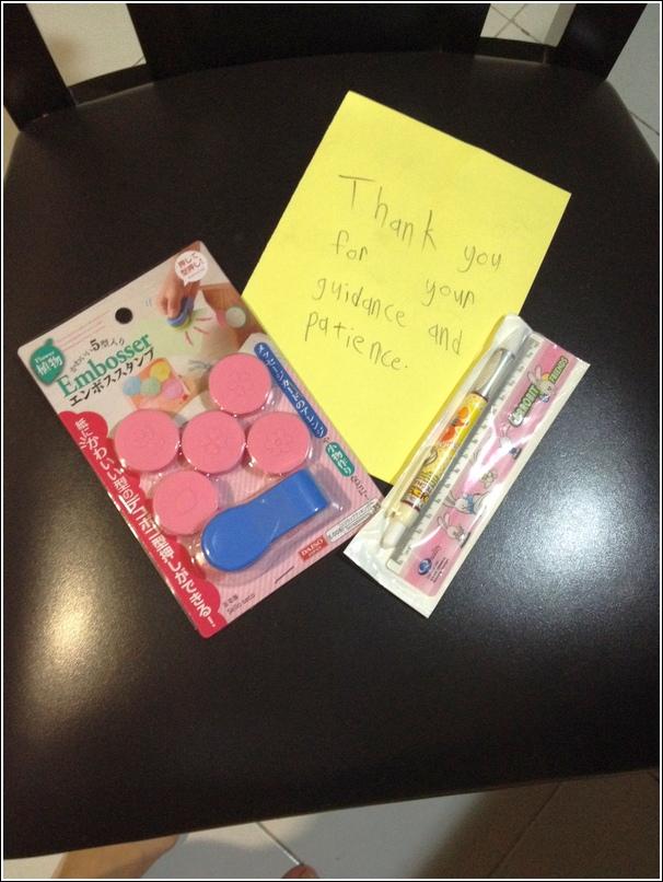 Teachers' gift