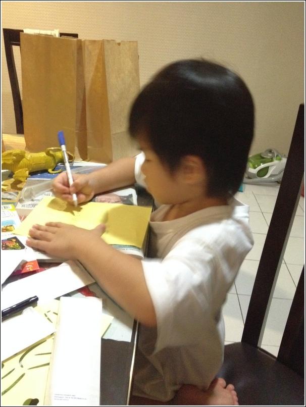Writing thank you card__1