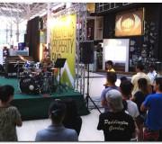 ethan's public drum performance