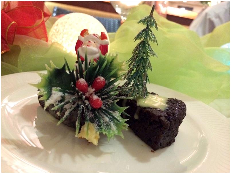 Dorsett Grand Christmas pudding