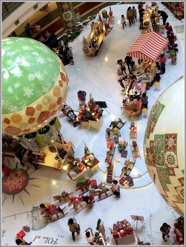 One Utama Christmas decor_1