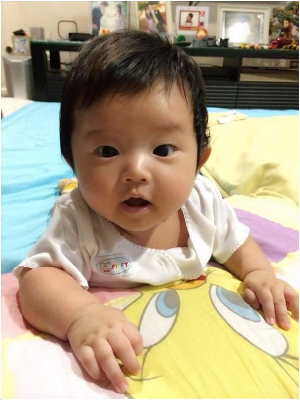 ayden at 3 months old