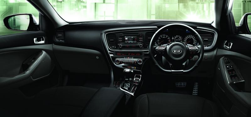Kia Optima K5 Interior