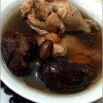 black bean with red dates chicken soup