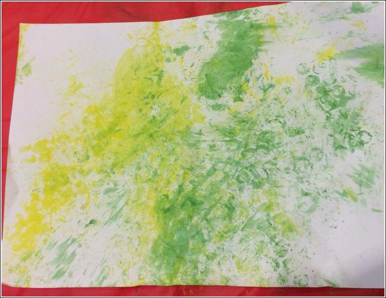 bubble wrap abstract art_2