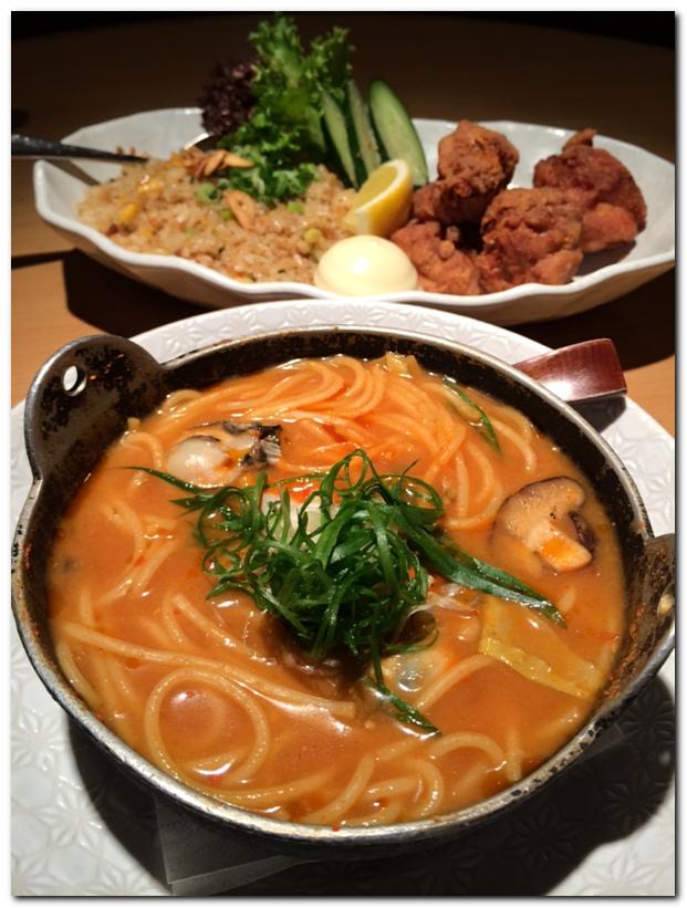 Pasta Zanmai Kimchi noodles