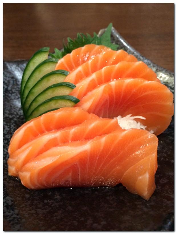 Sushi Zanmai Salmon Sashimi