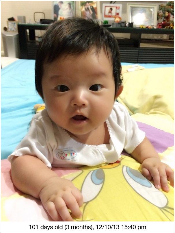 Ayden 3 months
