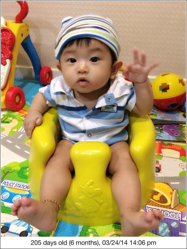 Ayden 6 months