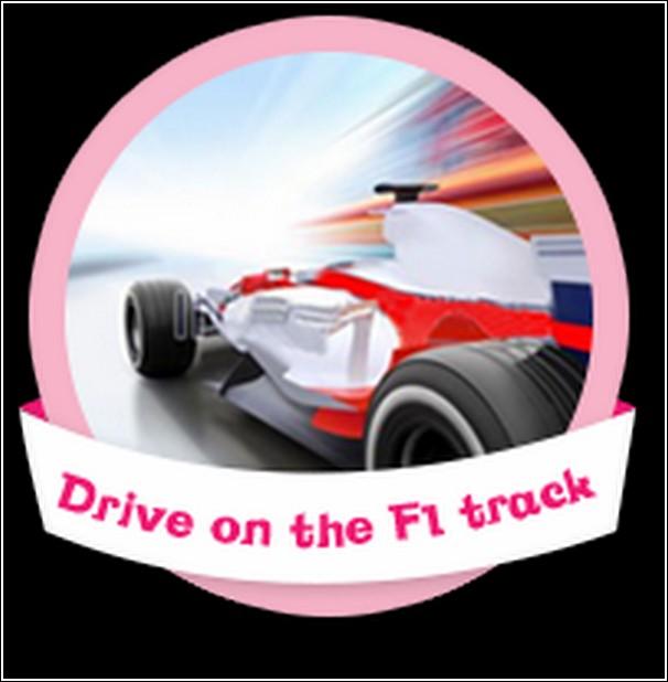 drive on F1 track