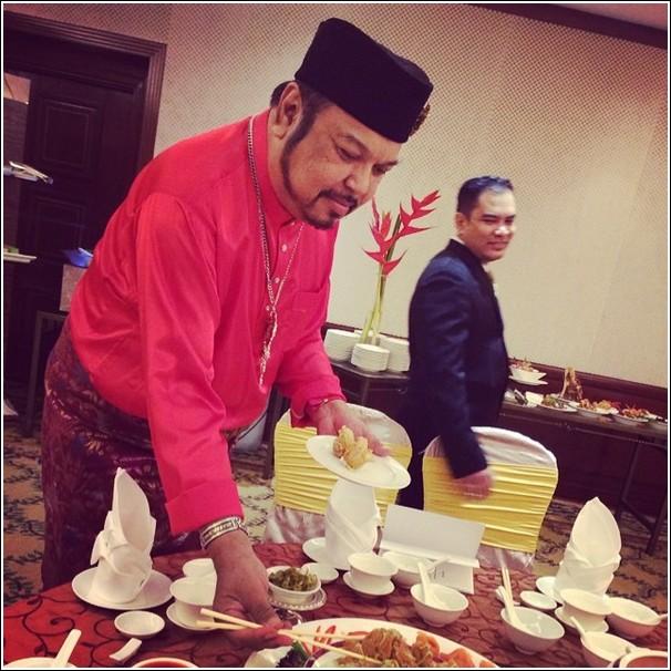 Dorsett Grand Subang berbuka puasa with chef jaafar onn