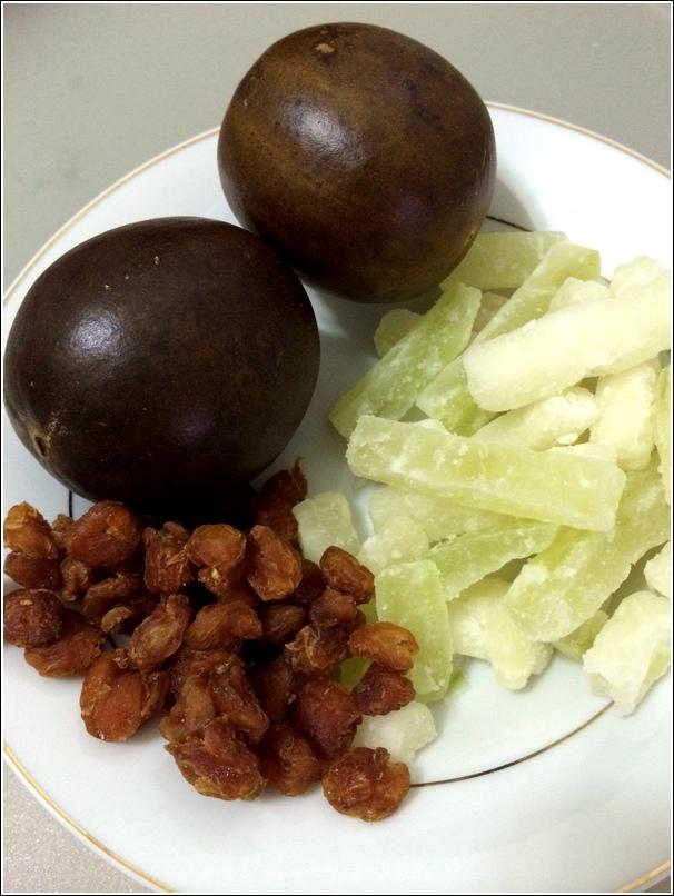 Loh han Guo ingredients