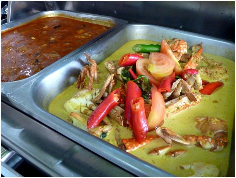 Ramadhan Saujana KL Ketam masak lemak