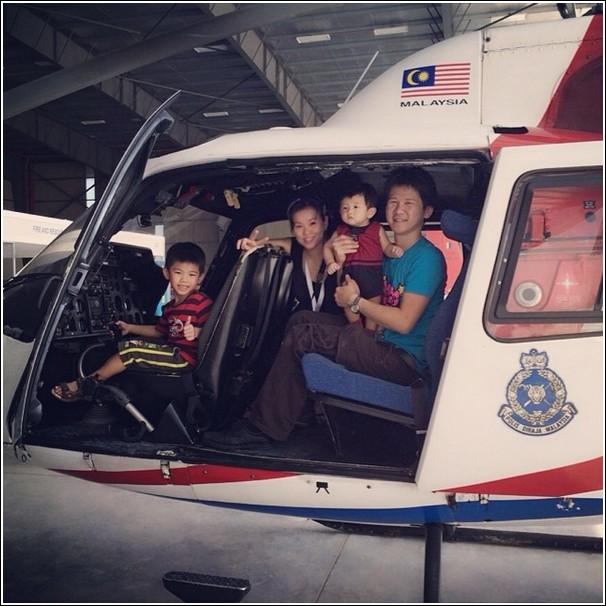 Subang International Air Carnival 2014_helicopter ride