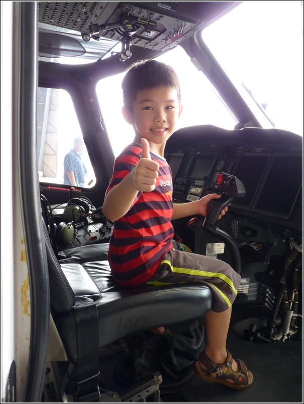 Subang International Air Carnival 2014_inside helicopter cockpit